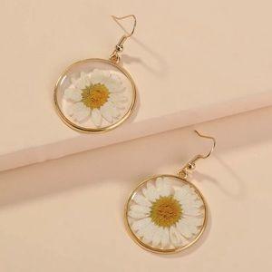 3/$30 💛 Sunflower Drop Earrings